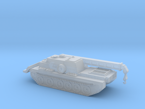 Type 90-II Armoured Recovery Vehicle 1/700 in Smooth Fine Detail Plastic