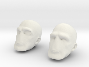 Morph Right Two in White Natural Versatile Plastic