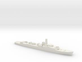 HMS Troubridge (1969), 1/1800 in White Natural Versatile Plastic