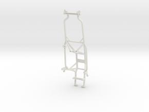 045010-11 Ampro Hornet Cage-Stock Body in White Natural Versatile Plastic