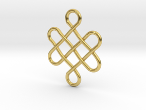 Celtic Design in Polished Brass