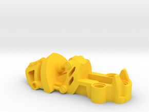 Exota Foot in Yellow Processed Versatile Plastic
