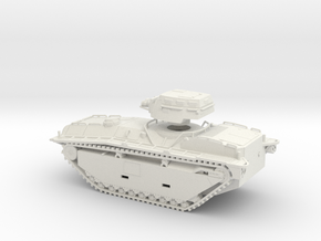 1/72 LVT(A)-5 Amtank (Modified) in White Natural Versatile Plastic