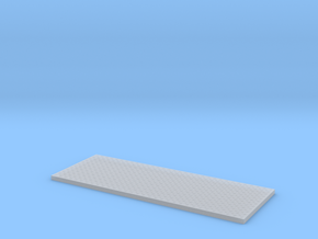 HO Utility Bed Diamondplate Deck in Smooth Fine Detail Plastic