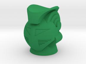 Green Baron King Atlas Magno Head in Green Processed Versatile Plastic