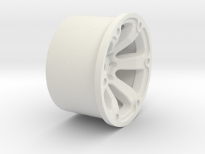 Kraftstoff_01 in White Natural Versatile Plastic