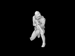 (1/47) Clone Sharp Trooper Phase 2 in Smooth Fine Detail Plastic
