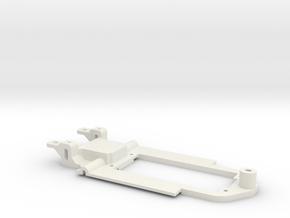 Carrera Universal 132 Opel Manta Chassis in White Natural Versatile Plastic