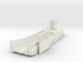 LCM 3 scale 1/100 in White Natural Versatile Plastic