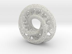 Mobius Tori 9.5 inch in White Natural Versatile Plastic