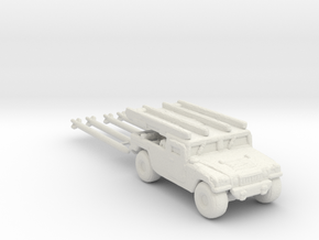 M1097a2 AIM-120B 285 scale in White Natural Versatile Plastic