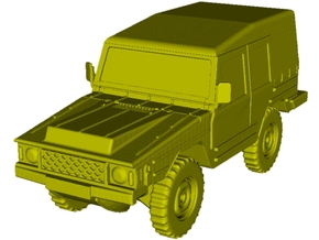 1/87 scale Volkswagen Type 183 Iltis vehicle in Smoothest Fine Detail Plastic