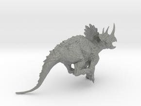 Regaliceratops in Gray Professional Plastic: Medium
