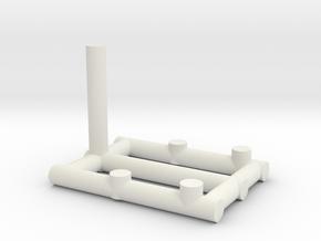 phonestand1 in White Natural Versatile Plastic
