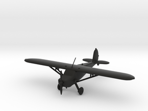 Cessna 120 in Black Natural Versatile Plastic