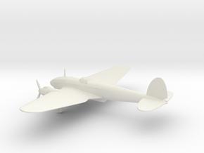 Heinkel He 111 H-6 in White Natural Versatile Plastic: 1:100