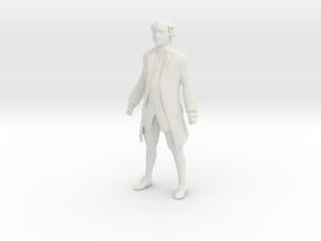 Printle F John Adams - 1/18 - wob in White Natural Versatile Plastic
