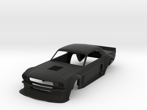 1:24 Ken Block Hoonicorn V1 Body in Black Natural Versatile Plastic
