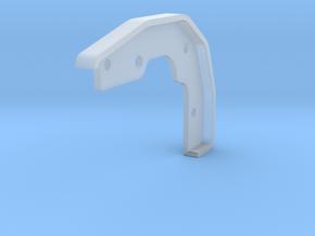 Tamiya Blazing Blazer Front Left Bumper Mount in Smooth Fine Detail Plastic