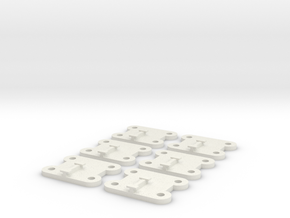 BasicBases in White Natural Versatile Plastic