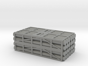 1 to 285 MLRS pod 4 pod stack in Gray Professional Plastic
