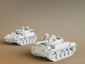 AA Gun M42 Duster Scale: 1:100 in Smooth Fine Detail Plastic