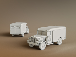 M43 Ambulance Scale: 1:144 in Smooth Fine Detail Plastic