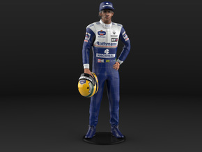 Ayrton 1994 1/6 Standing Figure in Full Color Sandstone