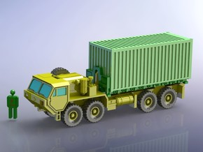 HEMTT M1120 Truck Load Handling System 1/200 in Smooth Fine Detail Plastic