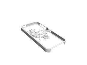 NYC subway map iPhone 5s case in White Natural Versatile Plastic