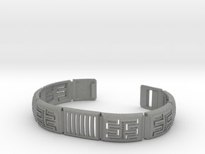 Viking Module Bracelet 1 in Gray PA12