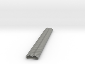 Wide Profile Spring in Gray Professional Plastic