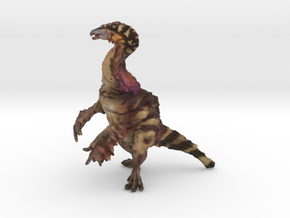 Alxasaurus in Natural Full Color Sandstone: Extra Large
