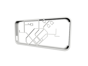 Singapore MRT network map iPhone 5s case in White Natural Versatile Plastic
