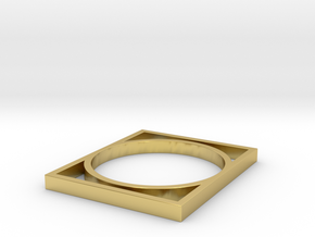 Edge 1 in Polished Brass: 8 / 56.75