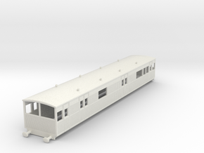 o-87-lyr-electric-baggage-car-3028 in White Natural Versatile Plastic