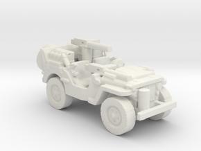 1/100 SAS Jeep ww2  1 in White Natural Versatile Plastic