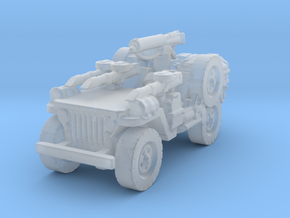 1/72 LRDG Jeep  5  in Smooth Fine Detail Plastic