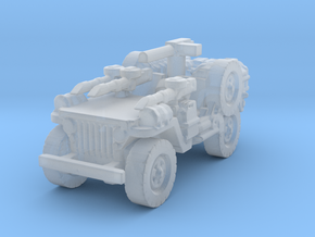 1/72 LRDG Jeep 3 in Smooth Fine Detail Plastic