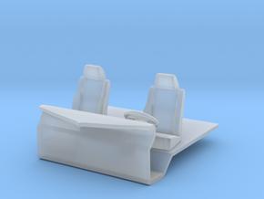 Bubblenose bunk 164 interior in Smooth Fine Detail Plastic