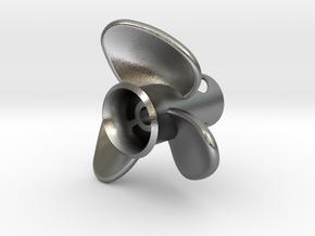 Propeller_side-mount in Natural Silver