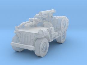 1/56 28mm LRDG SAS Jeep 5 in Smooth Fine Detail Plastic