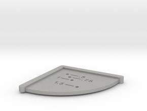 Corner Hole Measuring Jig - Imperial in Aluminum