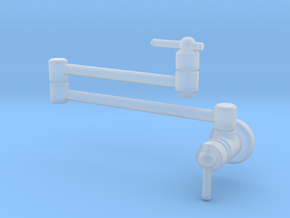 Pot Filler Contemp - Stationary in Smooth Fine Detail Plastic