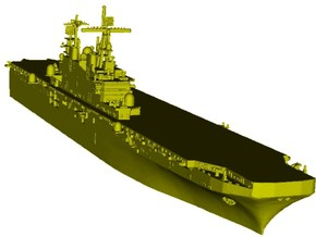 1/2000 scale USS Tarawa LHA-1 assault ship x 1 in Smooth Fine Detail Plastic