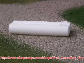 1/64 2000gal Twin Tank in White Processed Versatile Plastic