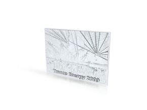 Trance Energy 2009 in White Natural Versatile Plastic