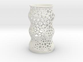 Penholder in White Natural Versatile Plastic