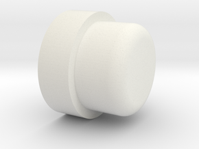 P/N OSCRID1, Steelcase roller, ball bearing adapte in White Natural Versatile Plastic
