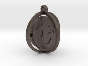 BeWink in Polished Bronzed-Silver Steel